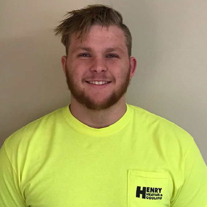 Henry Heating, Cooling & Plumbing - Zack Hawk